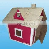 Cardboard children house,play house