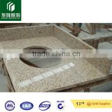 G682 sunset gold, sunny beige granite, chinese cheap yellow granite kerbstone, tiles, cut-to-size, countertops