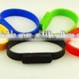 Fashion colorful silicone bracelet usb pen drive/usb flash drive/usb memory stick For Promotion                                                                         Quality Choice