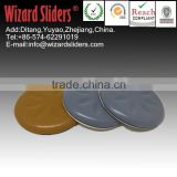 Round/Square PTFE/TEFLON easy glider sliders ;adhesive furniture foot protector pad 10072 50mm