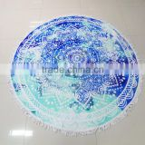 100% cotton mat chair beach towel round towel with 150cm round                                                                                         Most Popular                                                     Supplier's Choice