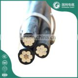 power transmission line11kv abc cable aluminium 3 core abc cable with ce ccc certificate