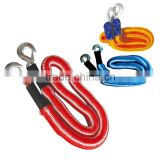OEM/ODM Car Tow Rope With Hooks Elastic Tow Rope High Tensile Ropes