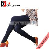 Hot selling fleece tights custom colorful ladies winter fleece pantyhose brush tights                                                                         Quality Choice