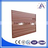 Brilliance Powder Coated Flat Loop Top Aluminum Aluminum Garden Fence Factory