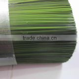 Double green colors mixed PET momo filament for Christmas tree diameter 0.26-0.28mm length 100mm