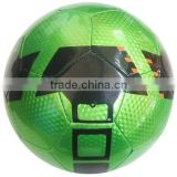 Green Color Stitched Football/Soccer Ball