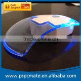 Computer Transparent Wireless Mouse with colorful led light