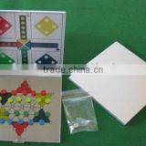 New design Magnetic Ludo Chess Game for travel