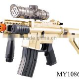 Hot style! Cool Electric Absorbent Water Bomb Toy Gun Children water bullet gun water soft bullet gun