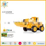 1:32 truck 5 channel construction toy scale model electric rc loader with rechargeable battery