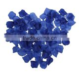 200pcs/lot Artificial Rose Petals Wedding/Party Decorations Confetti Navy Blue Silk Rose Flowers Free Shipping