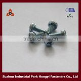 High Quality Galvanized Roofing Screws Type Of Cross Pan Head With Washer Attached