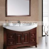 china factory direct wholesale commercial double classic sink bathroom vanity unit with marble top