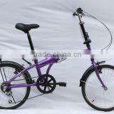 Folding Bike Foldable Bicycle with Rack & Fenders KB-F1625