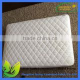 quilted waterproof organic cotton crib mattress pad cover