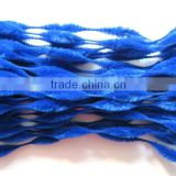 Chirstmas Decoration Blue Bumpy Chenille Stems