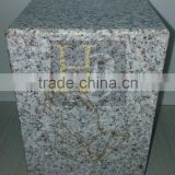 China supplier marble color cube with logo engraving and color filled Acrylic display box acrylic show case