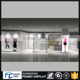 Retail clothes rack shop fittings for garment shop interior design