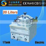 new product stainless steel dish and chips industrial and commercial 22L electric pressure deep fryer