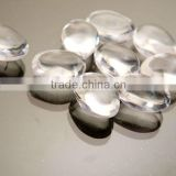 Modern Oval pure home/wedding/party decoration clear acrylic pebble acrylic stones vase fillers