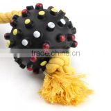 OEM Rubber sounding dog toys pet toys manufacturer soft rubber dog toy