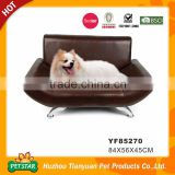 Professional Factory Direct Leatherette Easy Clean Sofa Bed Luxury Pet Dog Bed                                                                         Quality Choice