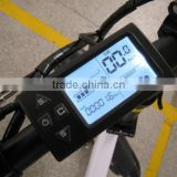 LCD display of electric bicycle, electric bike speedometer