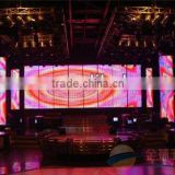 indoor led screen curtain, Ph12.5 Indoor Mesh Curtain transparent full color LED display