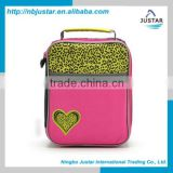 Outdoor Tote Bag Type Polyester Lunch Bag Thermal Bag Kids Fully Insulation Mini Cooler Box for Children