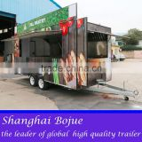 2015 hot sales best quality tri-axles food cart three axles food cart high-speed food cart