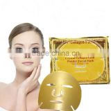 Best Selling !! Skin Care Anti Wrinkle Aging 24k Gold Gollagen Crystal Facial Mask Gold Mask