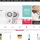 Shopping cart website design