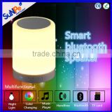 Multifunctional wireless bluetooth speaker built-in amplifie and hifi stereo with LED colorchanging night light