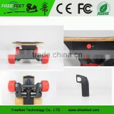No Foldable Electric Skateboard With Remote Control 1800W Brushless Dual Motor For Electric Longboard