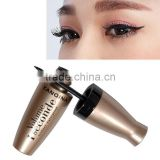 YANQINA NO.8635 Liquid Eye Liner Pen Super Black Waterproof Liquid Eyeliner Pencil With Gold Tube