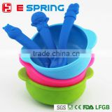 For Baby Infant Kids Small Flavoring Rice Tool Baby Feeding Container With Spoon Baby Bowl