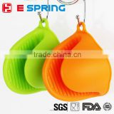 Cozinha Dishes Silicone Gloves Oven Heat Insulated Cooking Microwave Non-slip Gripper Pot Holder Silicone Finger Gloves