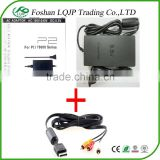 FOR SONY PS2 SLIM AC ADAPTER CHARGER POWER CORD SUPPLY FOR SONY PS2 + AUDIO VIDEO AV CABLE
