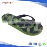 2017 SS cool style nice printing beach slippers boy sandals dk green wholesale children flip flop shoes