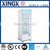 Single Glass Door Merchandiser,drinks chiller Showcase, beer Cooler Display_G368BMF