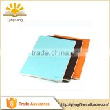 Branded name promotional business PU leather recycled journals blank notebook