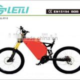 48V 1500W stealth bomber electric bicycle , beach cruiser electric bike, men's ebike