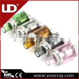 UD colorful pyrex glass Tube Goblin Mini RDA atomizer tank
