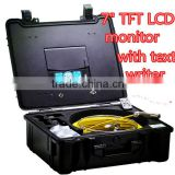 TVBTECH video sewer pipe inspection camera with 420 TV lines and 12 pcs white LEDs,3199F
