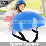 cheap price kids helmet for sale,blue Breathable security sport helmet skate