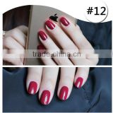 private lable red wine gel polish High Quality New Brand LASSIE Soak Off UV Nail Varnish Gel polish