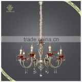 Hot Sale Antique Candle Chandelier Pendant Lamps Indoor, Crystal Pendant Lights
