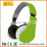 Customized Colors and Brand Foldable Hifi Sound A2DP Bluetooth SD Card Player Headphones
