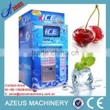 Automaic self-service ice vending bagging machine/water and ice vendor